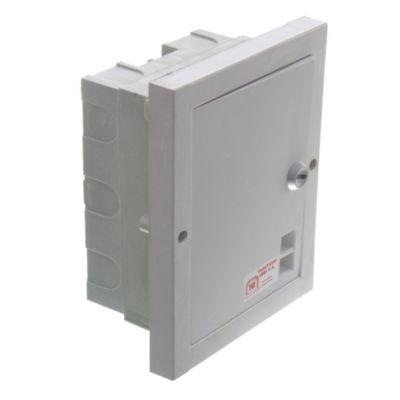 Caja para térmicas de Pilar de embutir para térmicas DIN 4 Bocas
