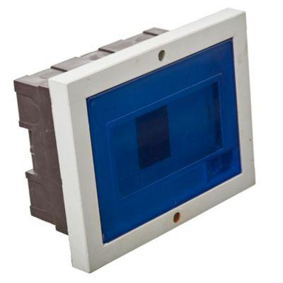Caja para térmicas de Pilar de embutir para térmicas DIN 6 Bocas