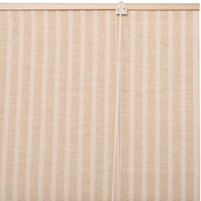 Cortina enrollable de yute 100 x 100 cm