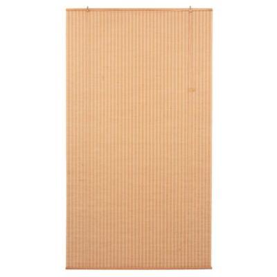 Cortina enrollable de yute 120 x 220 cm