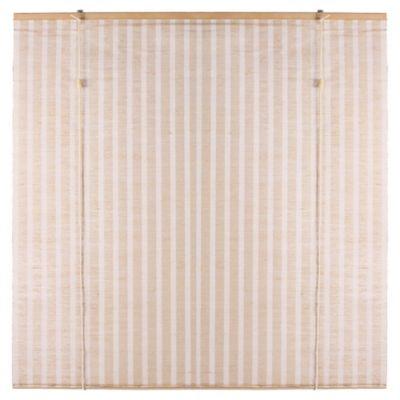 Cortina enrollable de yute 150 x 220 cm