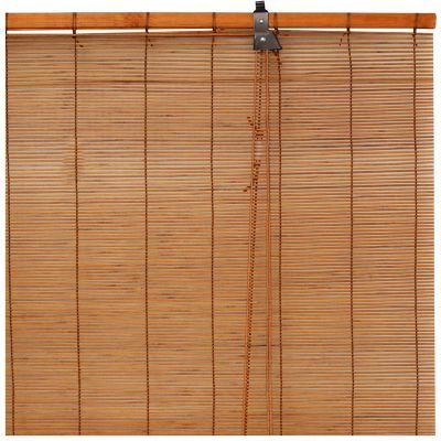 Cortina enrollable de bambu ms 80 x 160 cm