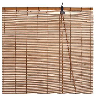 Cortina enrollable de bambu 160 x 165 cm
