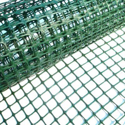 Cerco plástico verde 20 x 20 cm de 1 m