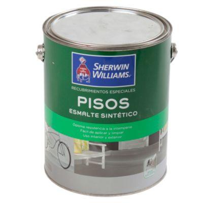 Recubrimiento especial esmalte pisos gris 4 L