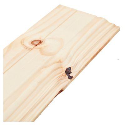 Cenefa de madera de pino 1 x 8 x 3.05 mts