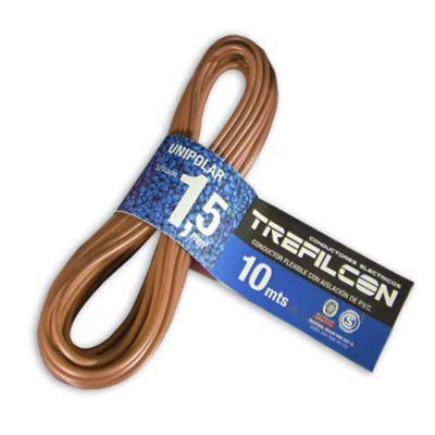 Cable unipolar 1.5 mm2 marrón 10 m