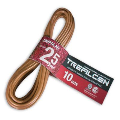 Cable unipolar 2.5 marrón 10 m