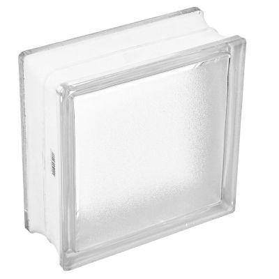 Ladrillo de vidrio satinado