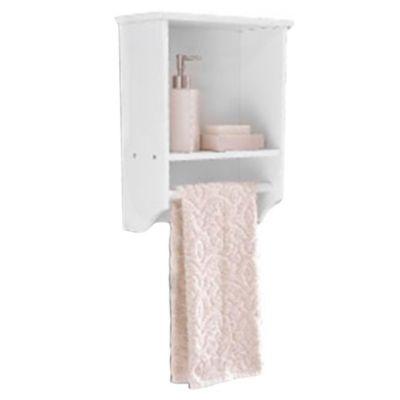 Gabinete 1 estante y toallero