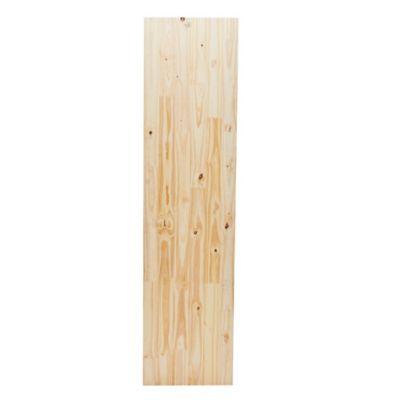 Tablero de pino encolado 200 x 50 cm