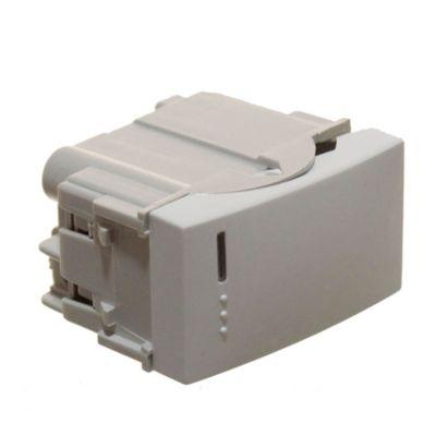 Módulo 1 interruptor de combinación blanco