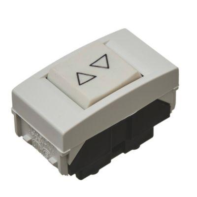 Módulo 1 interruptor para cortina blanco