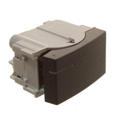 Módulo 1 interruptor pulsador negro
