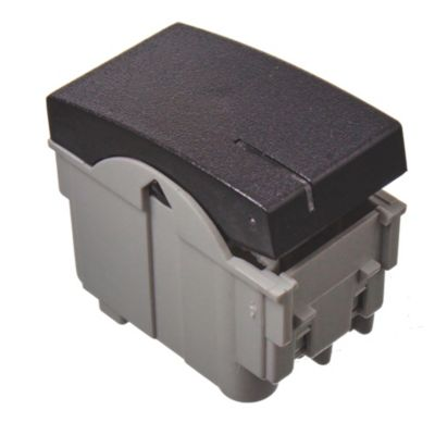 Módulo 1 interruptor negro