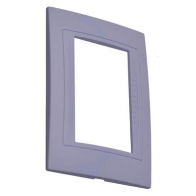 Tapa rectangular lila satinado