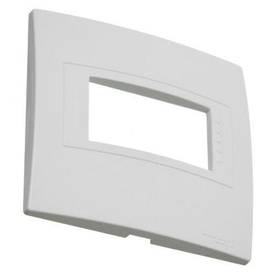 Tapa plástica mignón blanca línea base