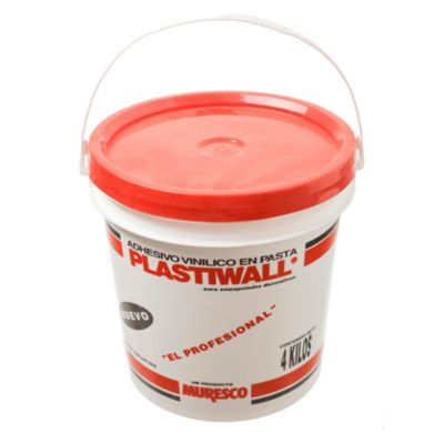 Adhesivo vinílico en pasta 4 kg