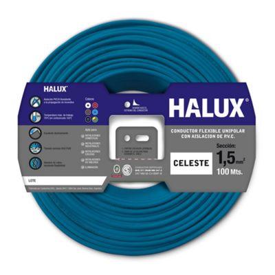 Cable unipolar 1.5 mm2 celeste 100 m
