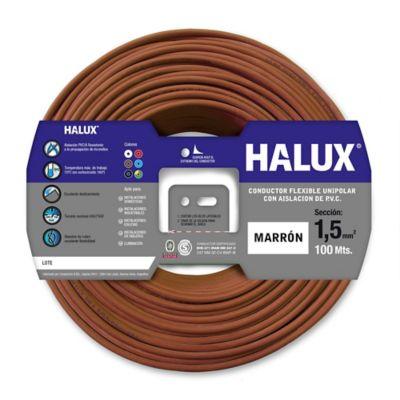 Cable unipolar 1.5 mm2 marrón 100 m