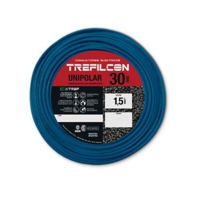Cable unipolar 1.5 mm2 celeste 30 m