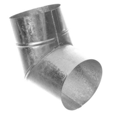 Codo chapa galvanizada 60º x 100 mm