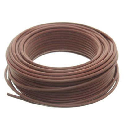 Cable unipolar 4 mm2 marrón 30 m