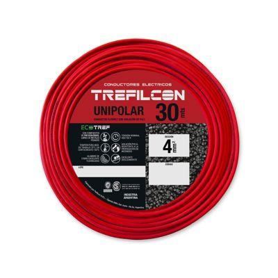 Cable unipolar 4 mm2 rojo 30 m