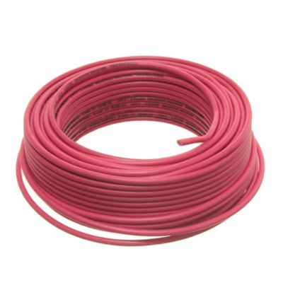 Cable unipolar 4 mm2 rojo 30 m