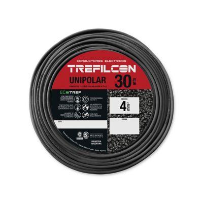 Cable unipolar 4 mm2 negro 30 m