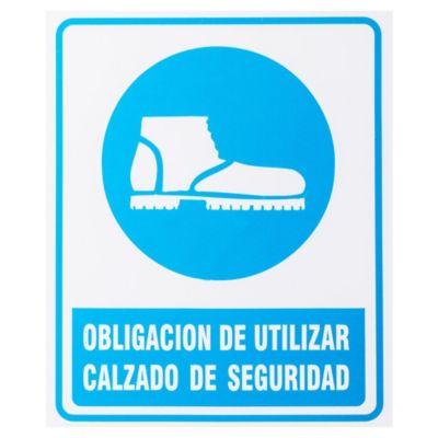 Cartel 30 x 25 Use Calzado de seguridad