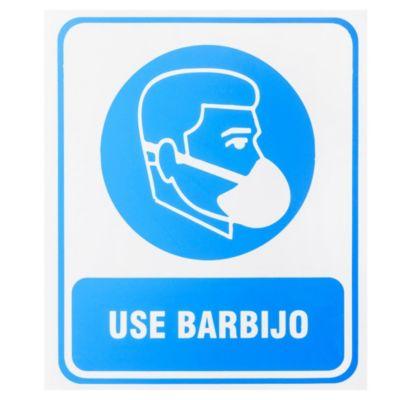 Cartel 30 x 25 Use Barbijo