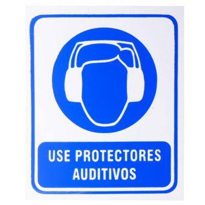 Cartel 30 x 25 Use Protector Auditivo