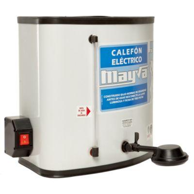 Calefón 25 l con ducha eléctrico