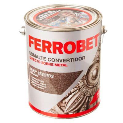 Esmalte convertidor ferrobet duo forjado hierro antiguo 4 L