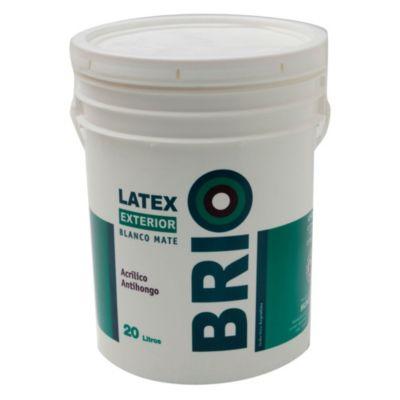 Pintura látex exterior Brio 20 L