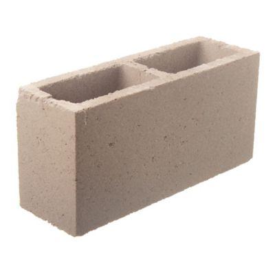 Bloque de hormigón para muro 13 cm espesor