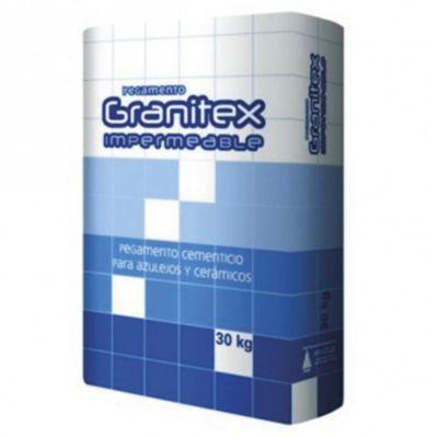 Adhesivo para cerámica impermeable Granitex 30 kg
