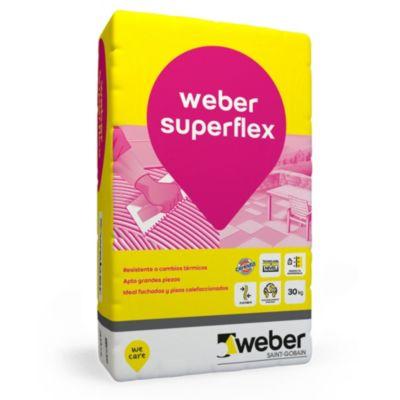 Adhesivo superflex 30 kg