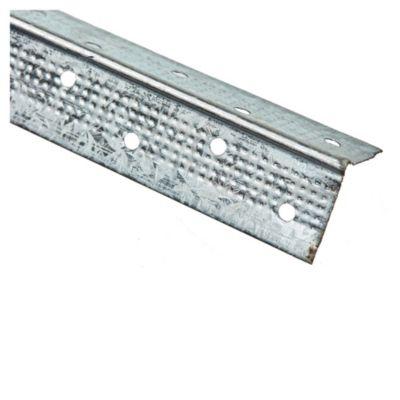 Tira cantonera de acero galvanizado 2.60 mts