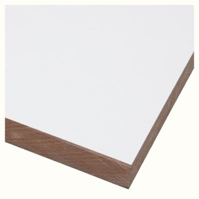 Melamina blanca 15 mm 183 x 260 cm