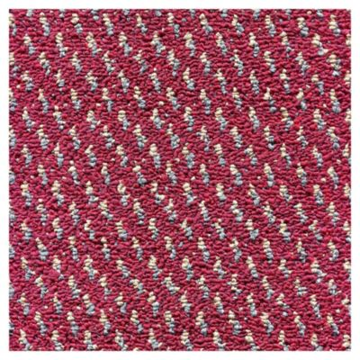 Alfombra Riviera rojo 3 x 3.96 m 12 m2