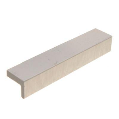 Manija de aluminio 96 mm gris