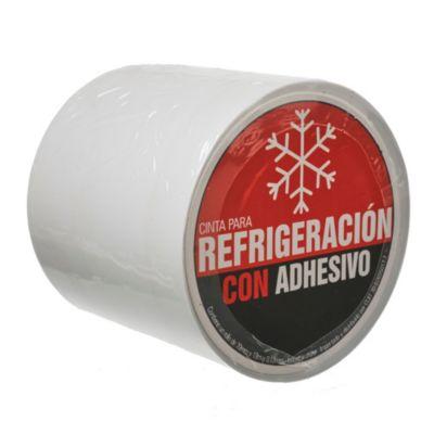 Cinta Refrigerada con adhesivo de 70 x 20 x 13 mm blanca