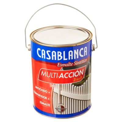 Esmalte classic multiacción negro 4 L