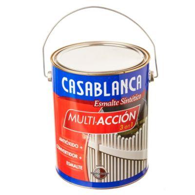 Esmalte classic multiacción negro satinado 4 L