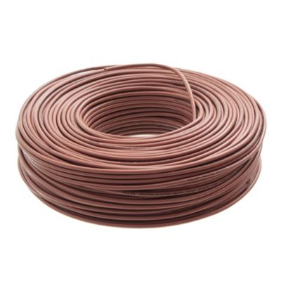 Cable unipolar 2.5 mm2 marrón 100 m