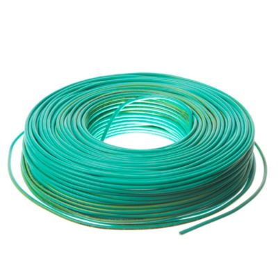 Cable unipolar 2.5 mm2 verde y amarillo 100 m