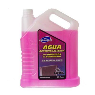 Agua desmineralizada con inhibidor de corrosión