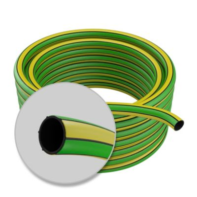 Manguera riego reforzada PVC 1/2 por 15 m
